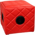 SoundLogic Ottoman Bluetooth Speaker Wireless - Red, Single Unit Channel