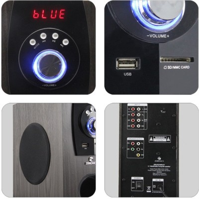 Zebronics BT6790 RUCF Wired & Wireless Home Audio Speaker