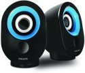 Philips Philips SPA-50 2.0 Speaker With USB Plug (Blue) Home Audio Speaker (Blue, 2.1 Channel)