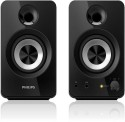 Philips Spa1260-Dynamic Sound Wired Laptop/Desktop Speaker (Black, 2.1 Channel)