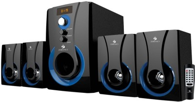 Zebronics 4.1 Multimedia SW3490 RUCF Wired Home Audio Speaker