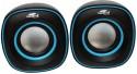 Terabyte TB-015 Wired Laptop/Desktop Speaker (Black And Blue, 2.0 Channel)