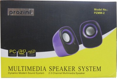 Prozini PZMM- 2 Wired Laptop/Desktop Speaker