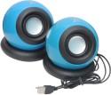 Tacgears TG-SQ-BB008 Wired Laptop Speaker (Blue, 2.0 Channel)