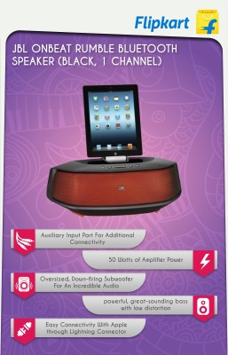 JBL OnBeat Rumble Bluetooth Speaker