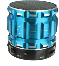 LIFE LIKE S-13 WIRELESS BLUETOOTH SPEAKER WITH TF/USB SUPPORT Wireless Mobile/Tablet Speaker (BLUE, 2.1 Channel)