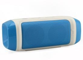 Zakk Charge FY-28 Bluetooth Wired & Wireless Mobile/Tablet Speaker (Blue, 1 Channel)