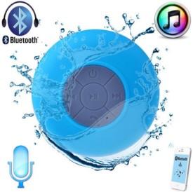 Gadget Bucket Portable New Bluetooth Speaker Subwoofer Shower Waterproof Wireless Handsfree Mobile/Tablet Speaker (Multi-Colour, 2.4 Channel)