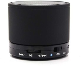 KONARRK SoundTube Portable Bluetooth Mobile/Tablet Speaker (Black, 3 Channel)