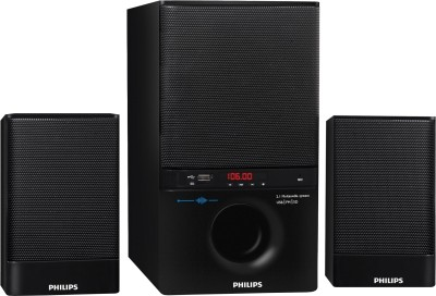 Philips MMS4000R 2.1 Channel Multimedia Speaker
