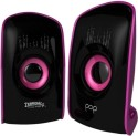 Zebronics Pop 2.0 Multimedia Speaker - Black & Purple