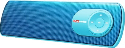 Portronics Pure Sound BT Bluetooth Portable Speaker Blue, 2 Channel available at Flipkart for Rs.2350
