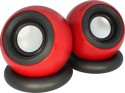 Zebronics Supernova USB Speakers - Red & Black