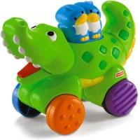 Fisher-Price Press And Go Animal Assortment - Crocodile (Multicolor)