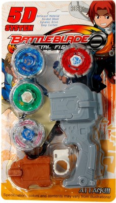 Dinoimpex Spinning & Press n Launch Toys Dinoimpex Beyblade Set Perfect Gift Fighter Attack