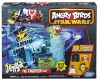Hasbro Angry Birds Star Wars Jenga Tie Fighter Game