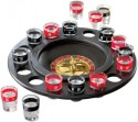 Smiledrive Casino Drinking Game Roulette Spin N Shot - With 16 Shot Glasses - Multicolor