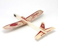 Guillow's Starfire Hand Chuck Soaring Glider Airplane (Multicolor)