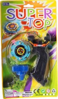 Imported Super Top Beyblade With Handle (Multicolor)