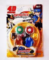 Ruppiee Shoppiee 4 D System Beyblade (Multicolor)