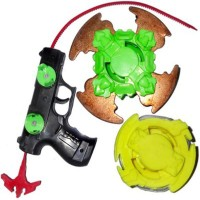 Massell Beyblade Metal Top Blader With Gun Launcher (Multicolor)