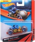 Hot Wheels Spinning & Press n Launch Toys Hot Wheels Moto Track Stars Wastelander