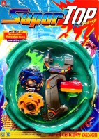 AsRetails 5D System Beyblade Stadium Battle With 2 Beyblades (Multicolor)