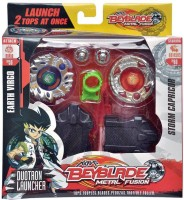Krypton Super Top Extreme Fingure Game Beyblade With LED Light (Multicolor)