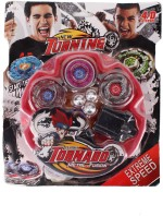 Tabu Spinning & Press n Launch Toys Tabu Tornado Speed Top