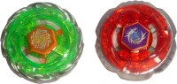 Toyzstation Tornado Metal Fusion 4D Battle Blade With Stadium (Green, Red)