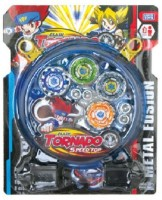 Shop & Shoppee Stadium BeyBlade With Clash Tornado Speed Top(4 Beyblades) (Multicolor)