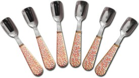 RK Disposable Stainless Steel Ice-cream Spoon Set