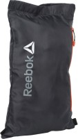 Reebok Plain Gym Bag Black, Drawstring Bag