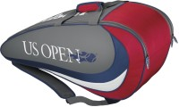 Wilson Us Open Six Kit Bag (Grey, Red, Kit Bag)