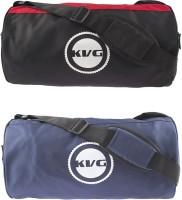 KVG KFGB17 Fitness Gym Bags Combo Deal (Black, Red, Blue, Dry Bag)