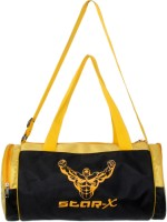Star X Power Gym Bag Black, Yellow, Kit Bag