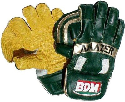BDM Amazer Wicket Keeping Gloves (Men, Multicolor)
