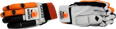 Kakss Crown Batting Gloves (Men, Orange)