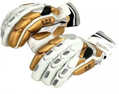 Hebe Z11 Batting Gloves (Men, Gold, White)