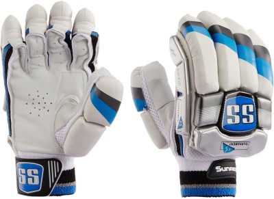 SS Tournament Batting Gloves (Men, White, Black)
