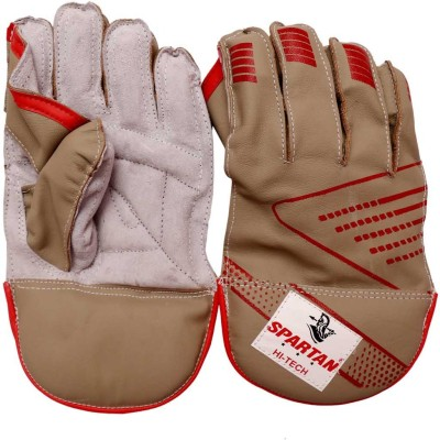 Spartan Hitech Wicket Keeping Gloves (Men, Multicolor)