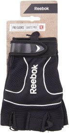 Reebok RSGB-11235WH Gym & Fitness Gloves (XL, Black, White)