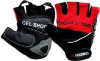 Kobo WTG-04RD Gym & Fitness Gloves (M, Black, Red)