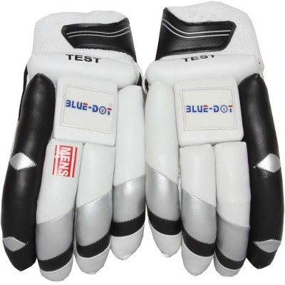 Blue dot blue Batting Gloves (Men, Multicolor)