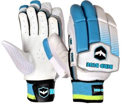 Birdblue Light Strome Batting Gloves (Men, White, Blue)