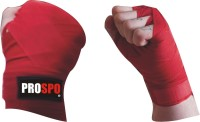 Prospo Hand Wrap Inner Gloves (Free Size, Red)