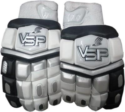 VSP TRIMAX Batting Gloves (Youth, White, Black)