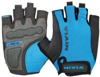 Nivia Hexa Grip Gloves Extra Large Golf Gloves (XL, Blue, Black)