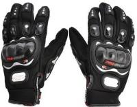 Motoway Pro Bike Full Racing Biking Driving Riding Gloves (XL, Black)