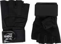 Combat Raider Gym & Fitness Gloves (S, Black)